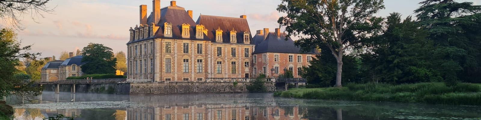 Chateau de la Ferté au petit matin