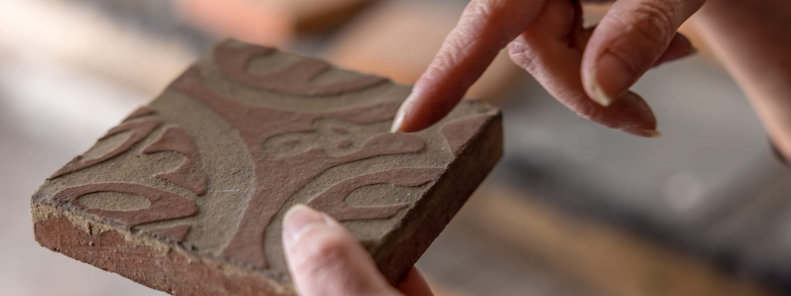Zoom sur un carreau de brique