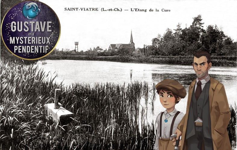 Explor'Games® 'Gustave et le mystérieux pendentif' - Les légendes de Saint-Viâtre : 2,4 km