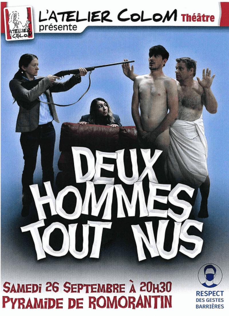 Théâtre 'Deux hommes tout nus' par l'Atelier Colom