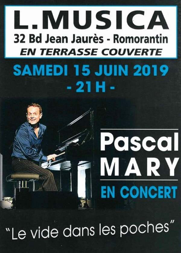 Concert L.Musica Pascal MARY