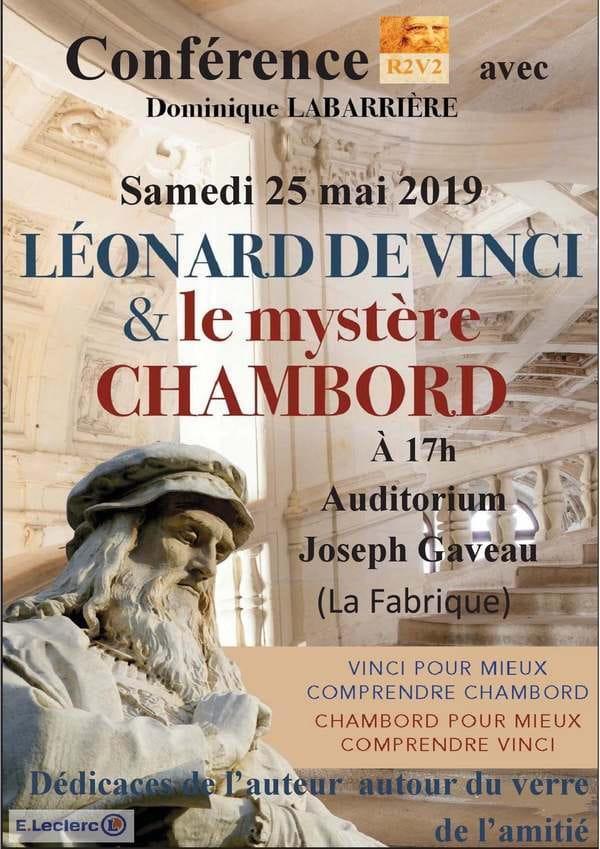 Conférence 'Léonard de Vinci et le mystère Chambord'