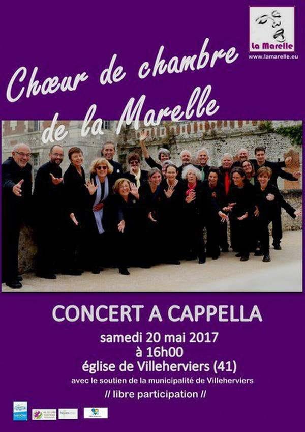 Concert du Choeur de Chambre de la Marelle