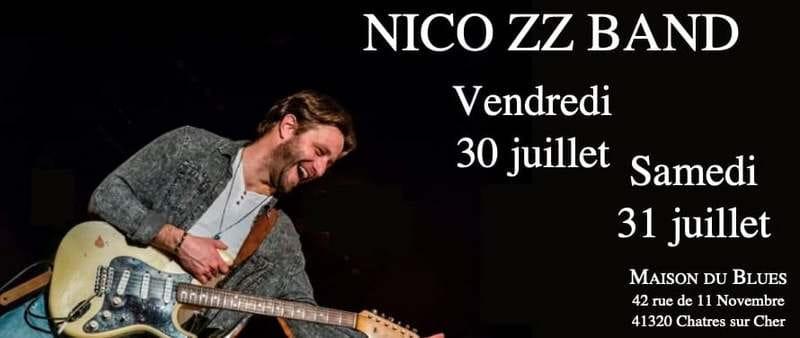 Concert 'Nico ZZ Band' à la Maison du Blues