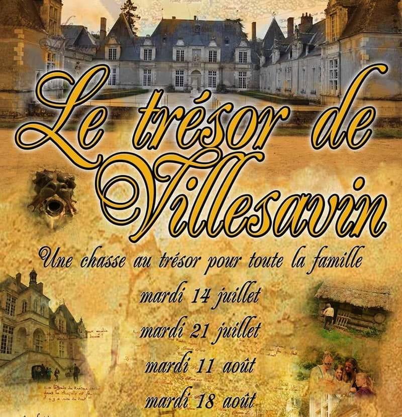 Chasse au trésor 'Le Trésor de Villesavin'
