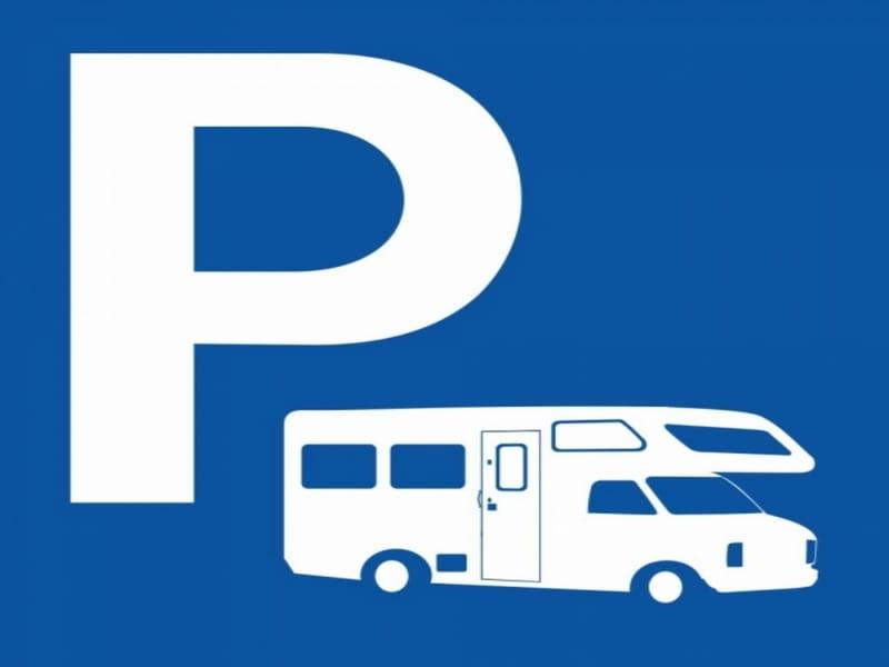Aire de stationnement pour camping-cars - Domaine de l'Aumonière - Cour-Cheverny
