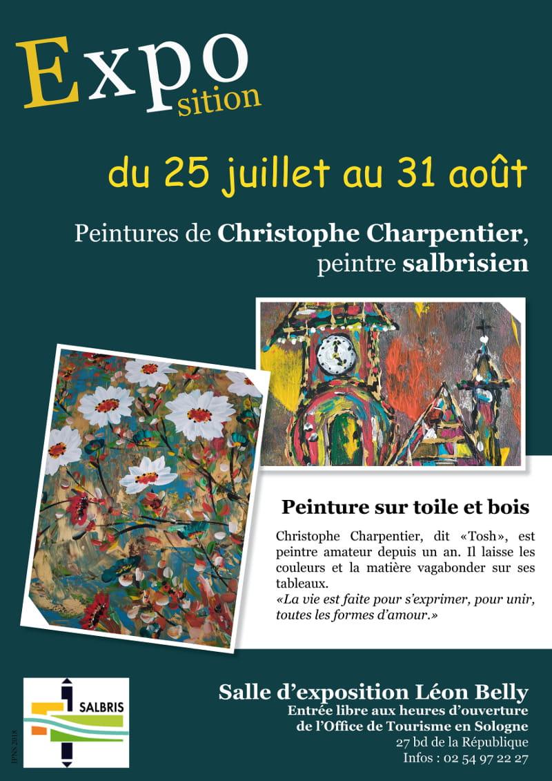 Exposition 'Peinture sur toile et bois' - Christophe Charpentier