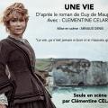 Théâtre 'Une vie' avec Clémentine Célarié