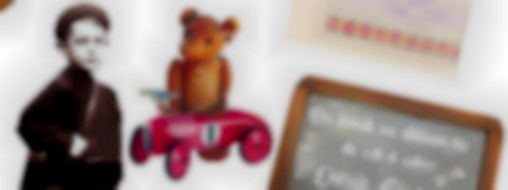 Exposition : L'école, les jeux et les jouets au 20ème siècle