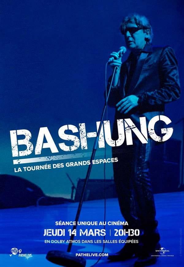 Retransmission du concert mythique de Bashung