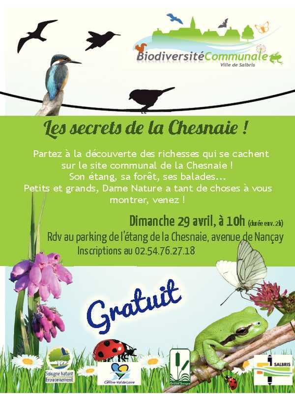 Sortie Nature - Les secrets de la Chesnaie