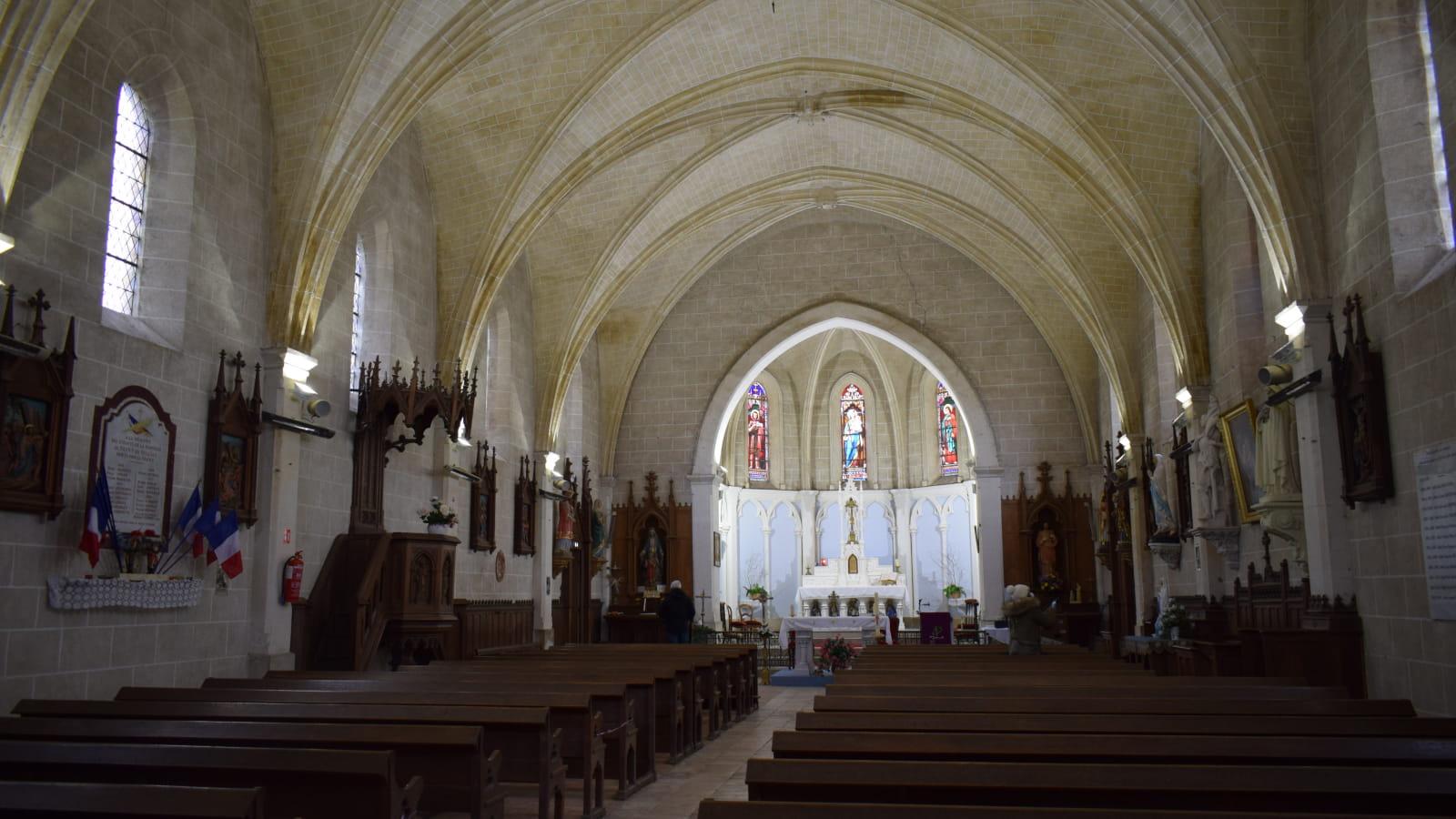 Visite guidée des églises - Eglise Saint Jean-Baptiste - Neuvy en Sullias