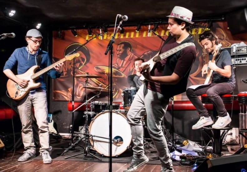 Concert Antoine Holler Blues Band à la Maison du Blues