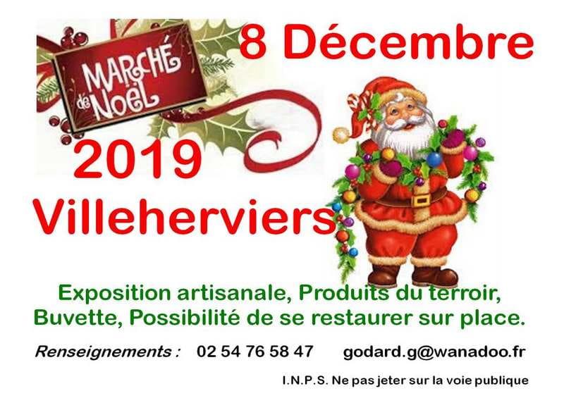 Marché de Noël à Villeherviers