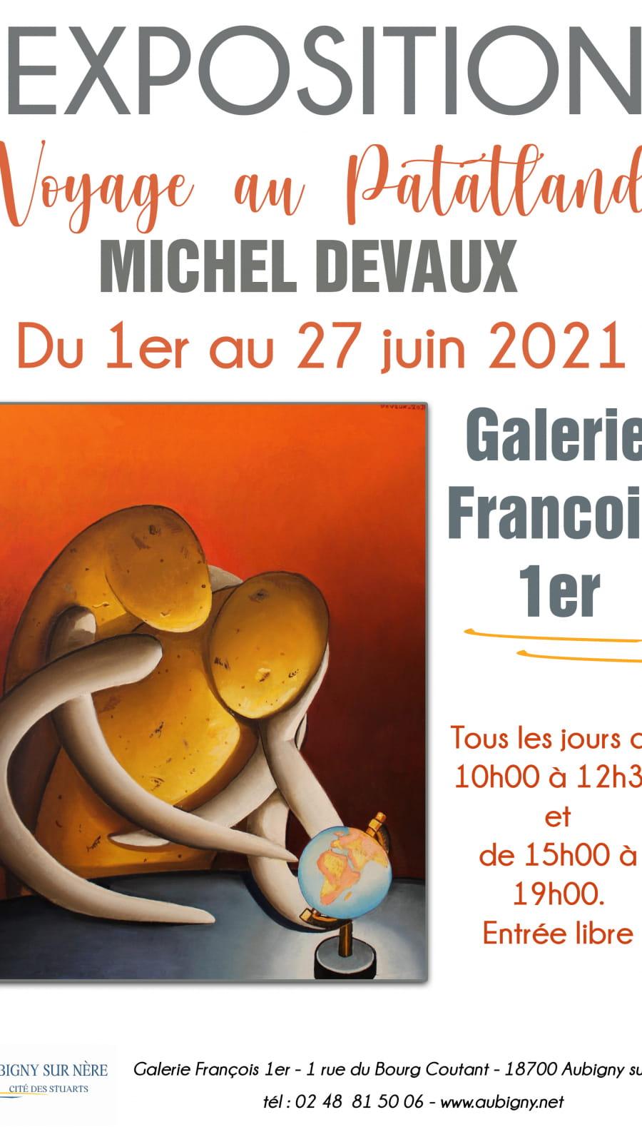 Exposition 'Voyage au Patatland' de Michel Devaux