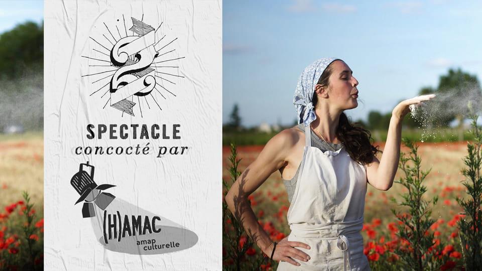 Spectacle & atelier avec La fée du pain - Prog' des l'(H)amac