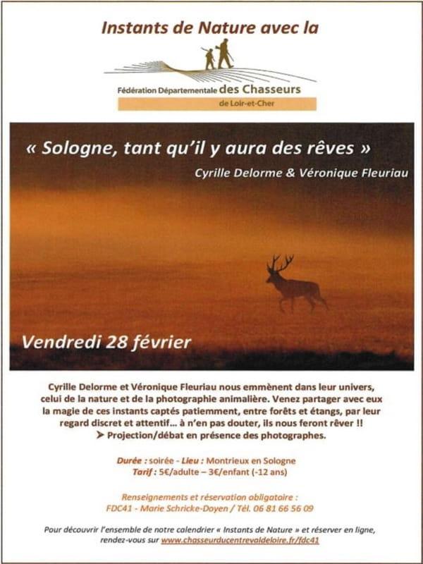 Projection/débat 'Sologne, tant qu'il y aura des rêves'