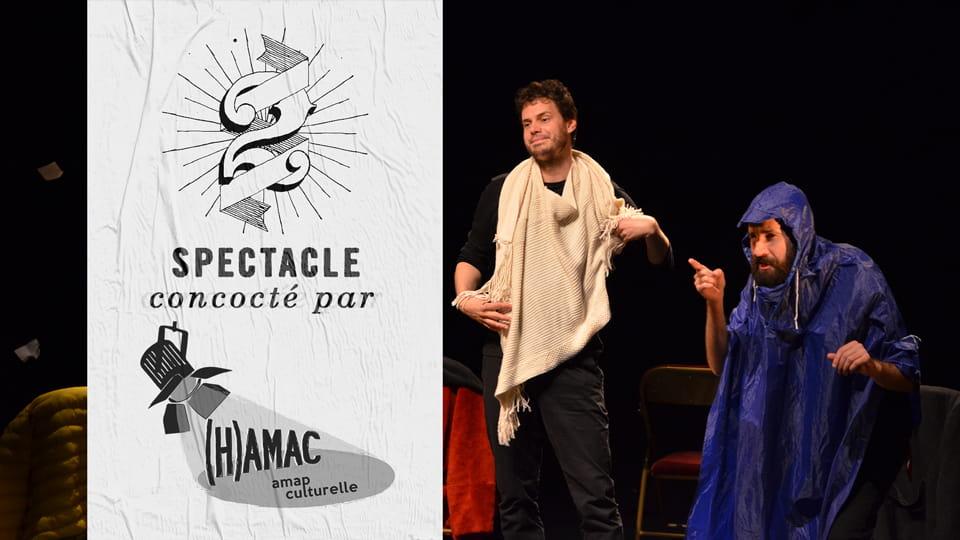 Spectacle 'Dis Horatio...' - Compagnie 21