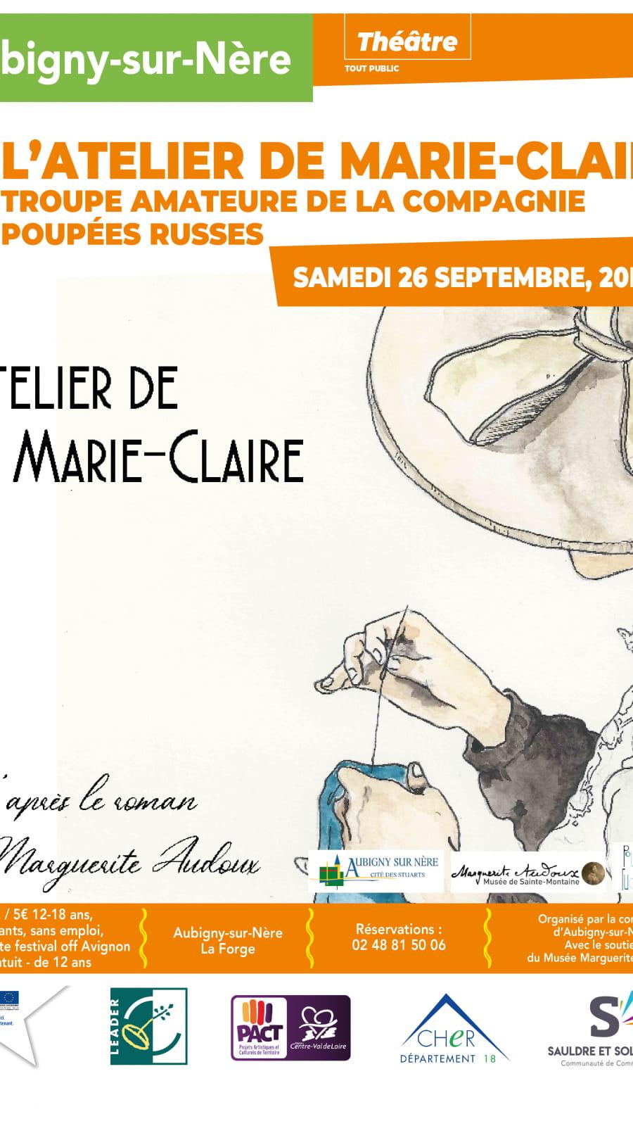 Théâtre 'L'atelier de Marie-Claire'