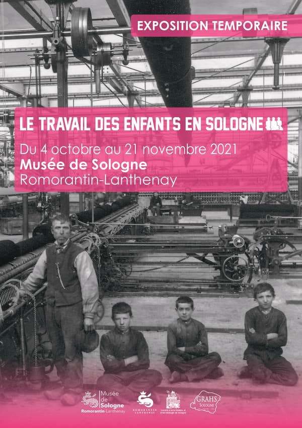 Exposition 'Le travail des enfants en Sologne'