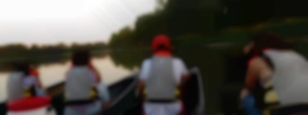 Balade crépusculaire en canoë avec un guide nature