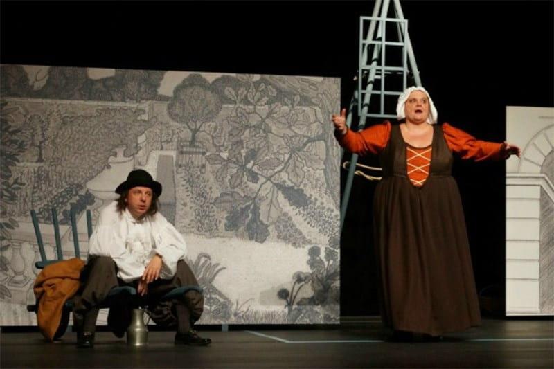 Théâtre 'Molière, place des disputes'