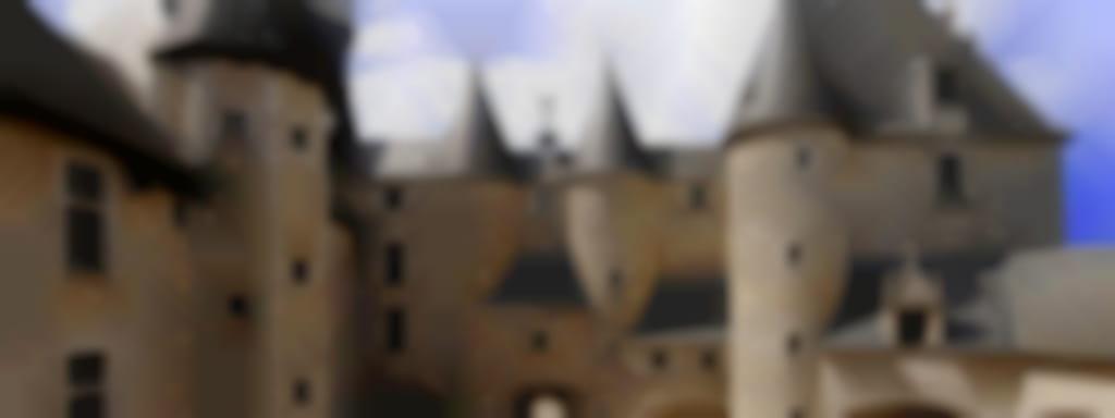 Visite de l'exposition 'L'Arpenteur' au château de Fougères-sur-Bièvre