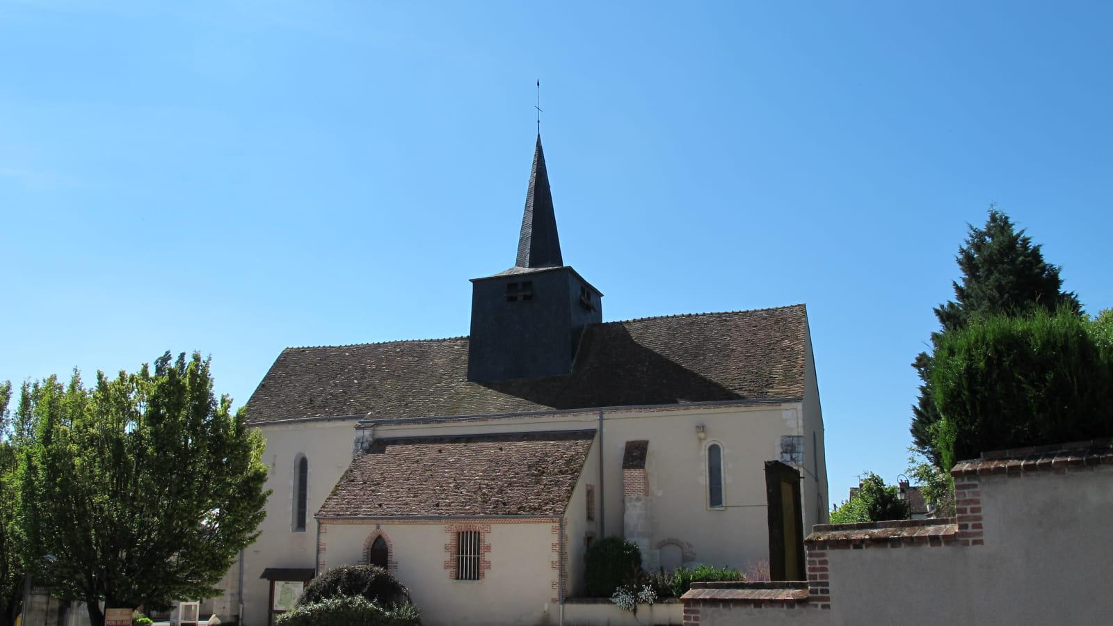 Visite guidée des églises - Eglise Saint Nicolas - Saint Aignan le Jaillard