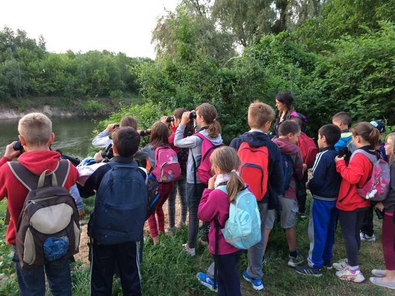 Camp nature Loire avec la Maison de la Loire