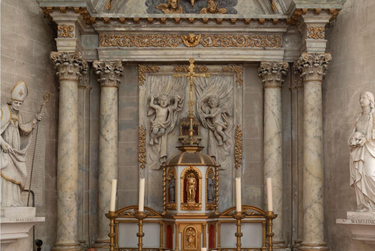 Visite guidée des églises - Eglise Saint Martin - Vannes sur Cosson