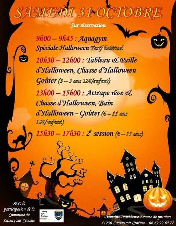 Journée Halloween pour les 3-11 ans
