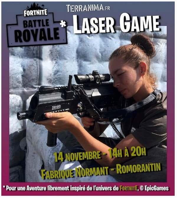 Laser Game à la Fabrique Normand