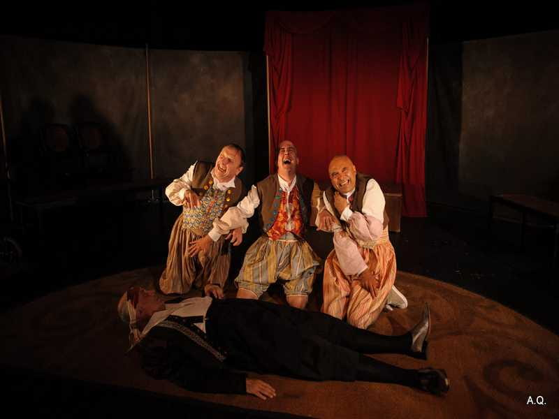La Compagnie du Hasard – Le dernier songe de Shakespeare à la Pyramide de Romorantin-Lanthenay
