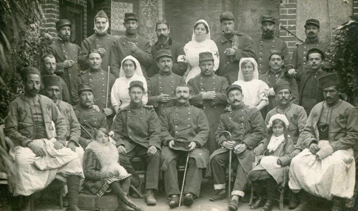 Visite 'La première guerre mondiale'