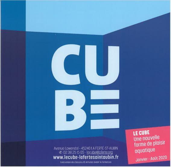 Horaires du CUBE à partir du 25 mai 2021