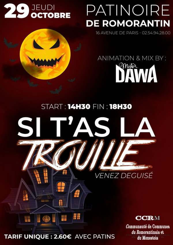 Animations Halloween 'Si t'as la trouille'