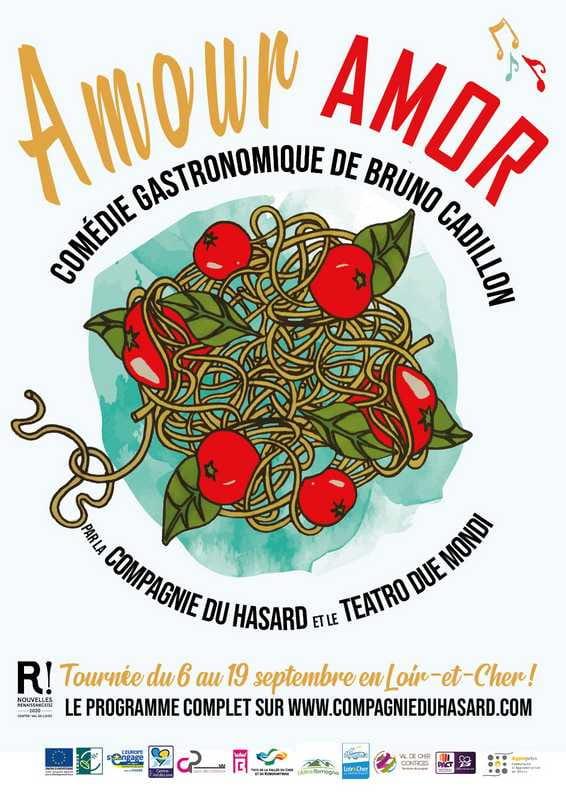 'Amour Amor' avec La Compagnie du Hasard à Châtres-sur-Cher