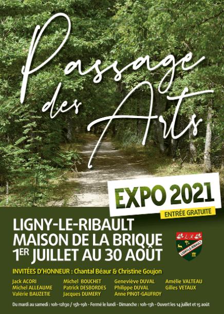 Eposition de Passage des Arts à la Maison de la Brique_ 1er juillet au 30 août 2021