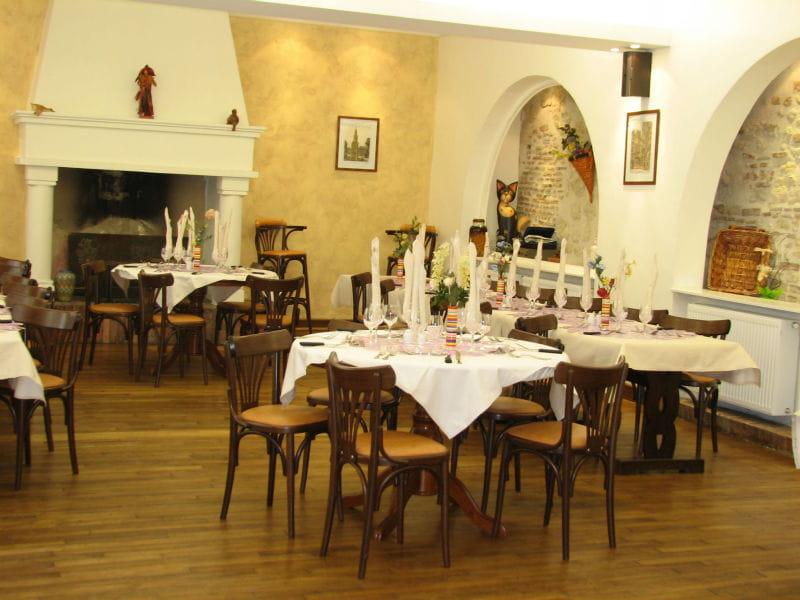 Le restaurant de l'Auberge de la Tour