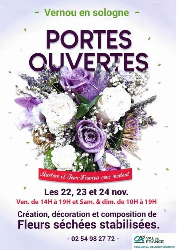 Portes ouvertes à l'atelier de fleurs séchées Ruet