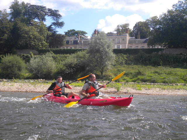 Découverte de la Loire en kayak