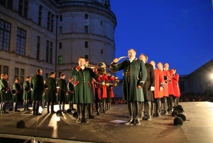 Grand concert de trompes à Chambord